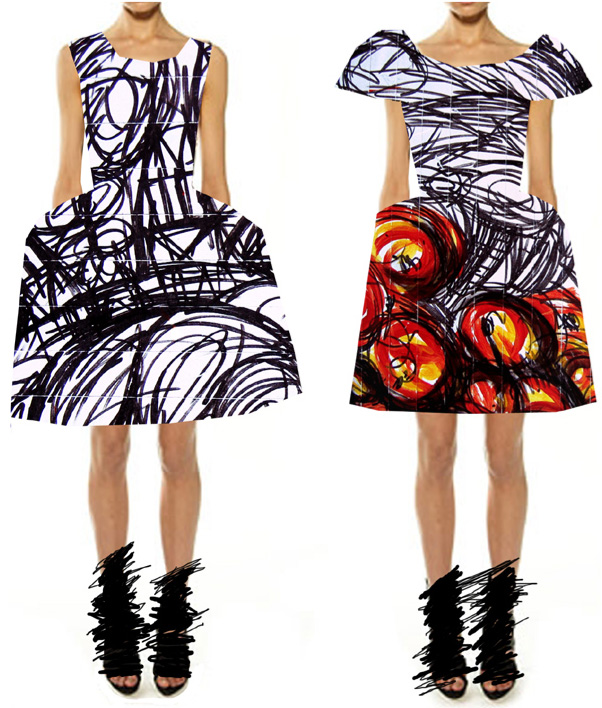 Fashion Saboteur blog takes inspiration from Nathan Bowen's graffiti art