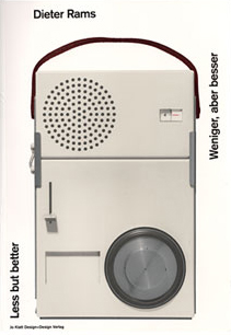 Dieter Rams' radio: less is more.