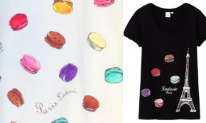 Ladurée tees by Uniqlo.