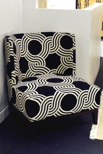Black and White graphics, no matter how bold always allow you to add pops of color in any space.