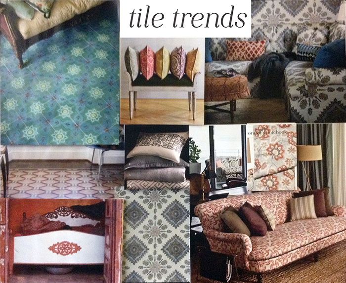 Repetitive Tile Trend Design Works Style