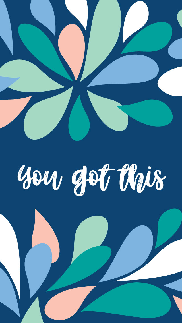 You Got This Freebie March 2018 Tech Wallpaper Design