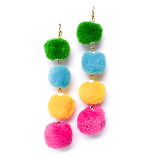 Claire_Multicolor_Pom_Pom_Earrings